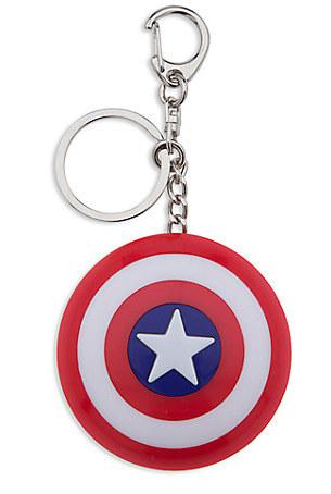 Captain America Light-Up Shield Keychain