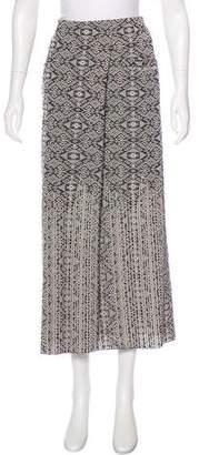 Chanel Jacquard Knit Skirt