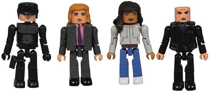 Diamond select toys Marvel Minimates Daredevil Series 1 Box Set by Diamond Select Toys