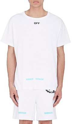 Off-White c/o Virgil Abloh Men's Asterisk Cotton T-Shirt $305 thestylecure.com