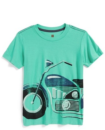 Tea Collection 'Motorrad' Graphic T-Shirt (Toddler Boys & Little Boys)