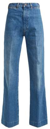 MiH Jeans Bay Wide Leg Jeans - Womens - Denim