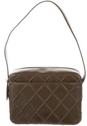 131604b4324286 Chanel Green Quilted Leather Handbags - ShopStyle