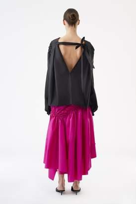 3.1 Phillip Lim Long Shirred Skirt