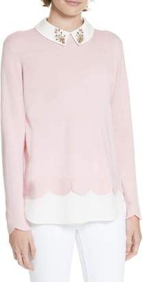 Ted Baker Suzaine Layered Sweater