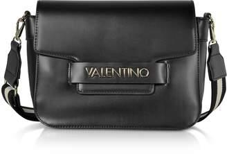 Mario Valentino Valentino by Eco Leather Blast Shoulder Bag w/Canvas Strap