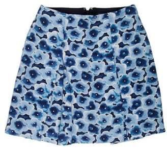 Marc Jacobs Printed Mini Skirt Blue Printed Mini Skirt