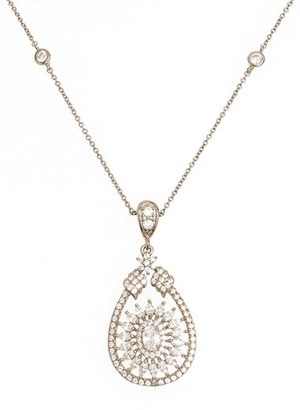 Women's Nina 'Mandala' Crystal Pendant Necklace $78 thestylecure.com