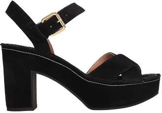 L'Autre Chose Lautre Chose LAutre Chose Black Suede Sandals