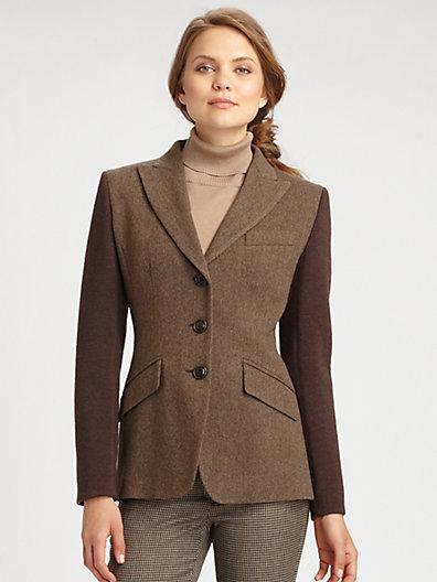 Max Mara Weekend Tweed Blazer