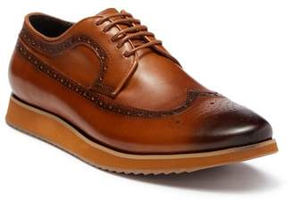 Steven Land Wingtip Leather Derby Sneaker