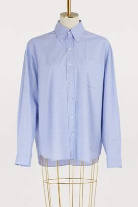 Miu Miu Glen plaid shirt