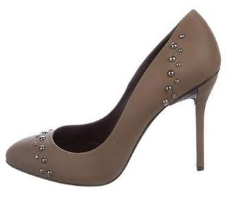 Maiyet Leather Studded Pumps