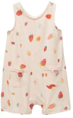 ED Ellen Degeneres Strawberry Romper (Baby Girls)
