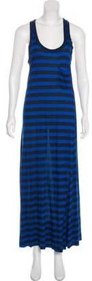A.L.C. Striped Sleeveless Maxi Dress