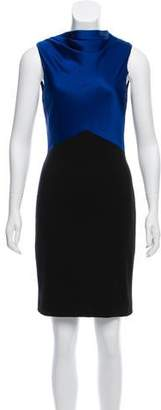Jason Wu Sleeveless Colorblock Dress