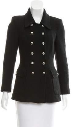 Michael Kors Virgin Wool Tweed Jacket