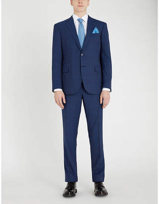 Douglas regular-fit wool suit