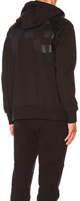Y-3 Yohji Yamamoto Classic Sweat Zip Up Hoody in Black $240 thestylecure.com