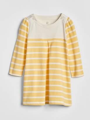 Gap Stripe Long Sleeve Dress