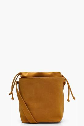 boohoo Jo Suedette Structured Round Base Cross Body