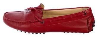 M.Gemi M. Gemi Leather Round-Toe Loafers