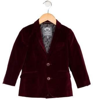 Appaman Fine Tailoring Boys' Velvet Blazer