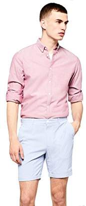 FIND Mens Shorts in Candy Stripe Fabric and Chino Style Regular Fit,XX-Large