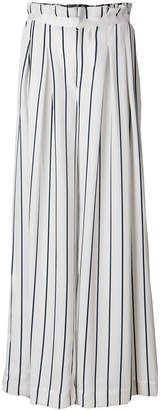 KENDALL + KYLIE Kendall+Kylie pinstriped wide-leg trousers