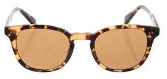 Garrett Leight McKinley Wayfarer Sunglasses