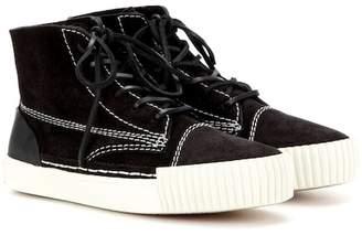 Alexander Wang Perry suede high-top sneakers