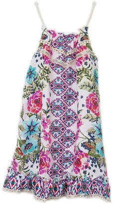 LILT Lilt Sleeveless Pattern A-Line Dress Girls