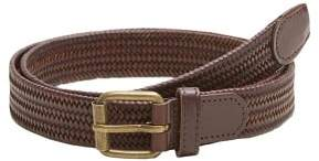 MANGO MAN Braided leather belt