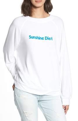 Wildfox Couture Sunshine Diet Sommers Sweatshirt