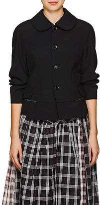 Comme des Garcons Women's Peter Pan-Collar Wool Blazer
