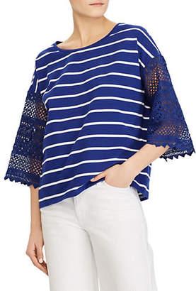 Lauren Ralph Lauren Bell-Sleeve Top