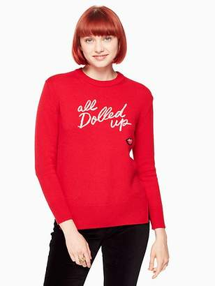 Kate Spade All dolled up sweater