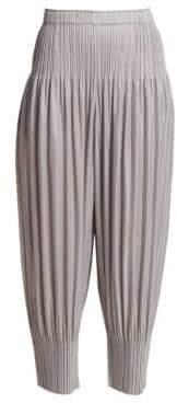 Pleats Please Issey Miyake Fluffy Basics Harem Pants