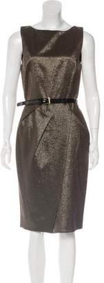 Michael Kors Belted Metallic Dress w/ Tags