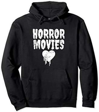 Horror Movies Hoodie - Horror Fan Pullover Hoodie