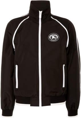 Burberry High-Necked Shell Blouson Jacket