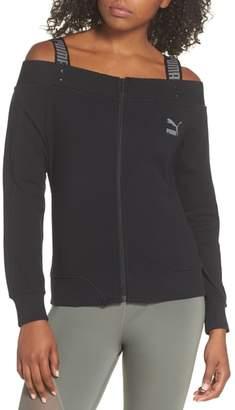 Puma T7 Cold Shoulder Jacket