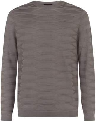 Emporio Armani Textured Sweater