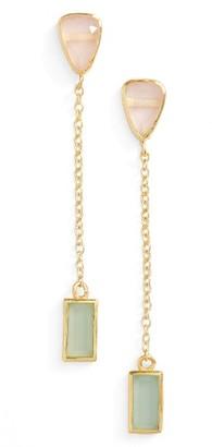 Women's Karen London River Quartz Drop Earrings $75 thestylecure.com