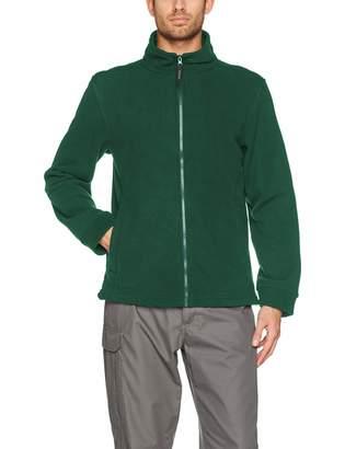 414899d9b8 Regatta Mens Mens Classic Full Zip Fleece Jacket TRF570 Green
