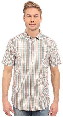 The North Face Short Sleeve Traverse Plaid Shirt Men's Short Sleeve Button Up