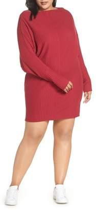 BP Rib Knit Bateau Dress