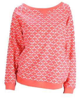 Charter Club CharterClub Red Long-Sleeve Printed Pullover L