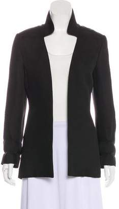 Theyskens' Theory Silk Structured Blazer