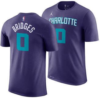 Jordan Men's Miles Bridges Charlotte Hornets Statement Player T-Shirt